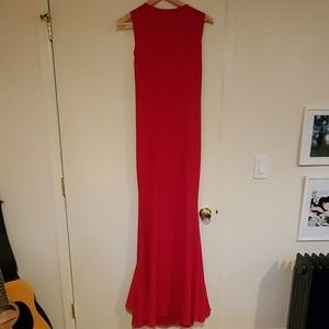 Red dress, from Windsor